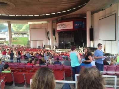 PNC Bank Arts Center, section: 401, row: E, seat: 10
