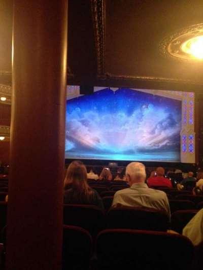 CIBC Theatre, section: Orchestra R, row: X, seat: 117