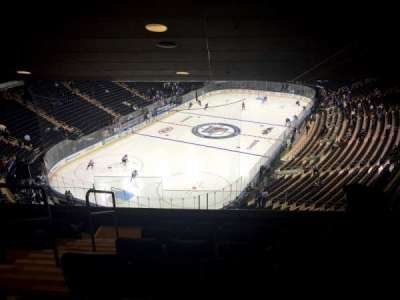 Madison Square Garden, section: 417, row: 7, seat: 4