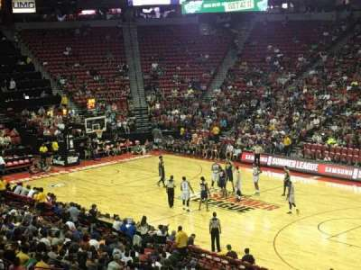 Thomas & Mack Center, section: 103, row: V, seat: 21