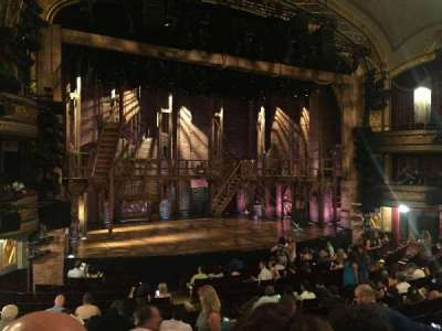 Richard Rodgers Theatre section Orchestra sides