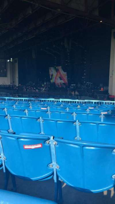 Starplex Pavilion, section: 200, row: LL, seat: 13