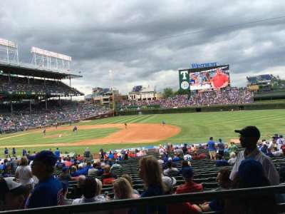 Wrigley Field section 231