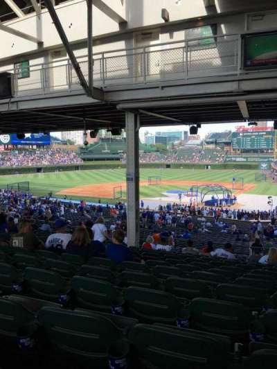 Wrigley Field, section: 218, row: 19, seat: 14