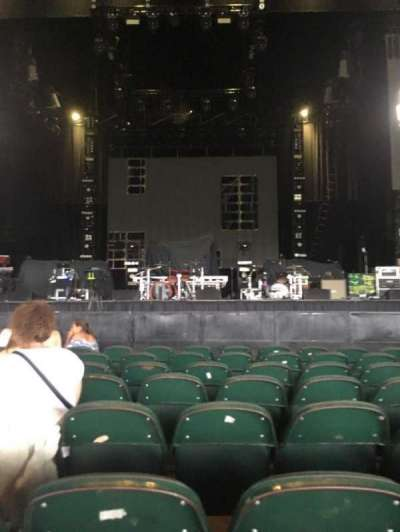 BB&T Pavilion, section: 102, row: A, seat: 11