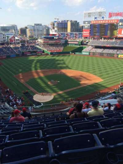 Nationals Park, section: 315, row: J, seat: 10