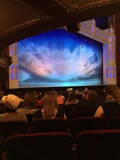 CIBC Theatre, section: Orchestra L, row: U, seat: 11