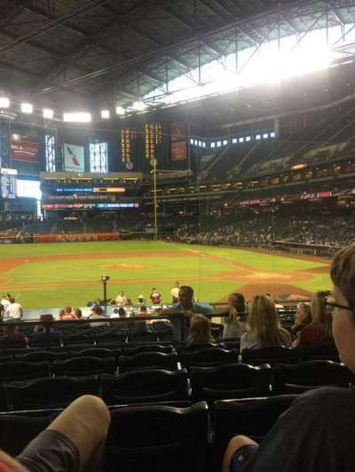 Chase Field, section: 127, row: 26, seat: 10