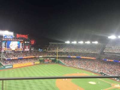 Nationals Park, section: 404, row: A, seat: 11