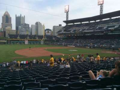 PNC Park, section: 125, row: N, seat: 17