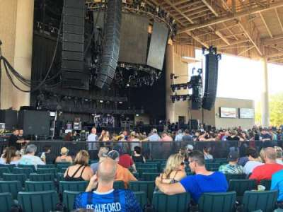 Klipsch Music Center, section: A, row: W, seat: 20