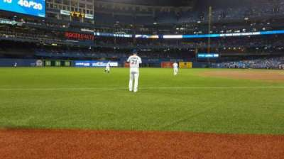 Rogers Centre, section: 130AR , row: 1, seat: 6