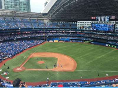 Rogers Centre, section: 518L, row: 16, seat: 102