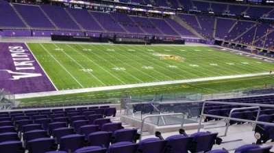 U.S. Bank Stadium section 135