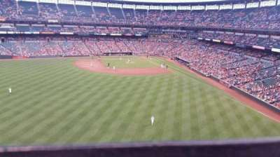 Oriole Park at Camden Yards, section: 386, row: 1, seat: 20