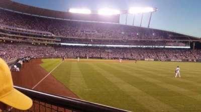 Kauffman Stadium, section: 148, row: J, seat: 5