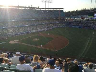 Dodger Stadium, section: 26, row: H, seat: 11
