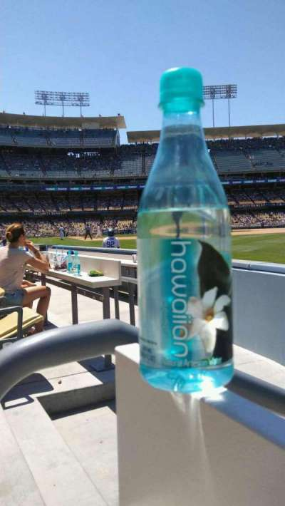 Dodger Stadium, section: 44FD, row: AA, seat: 1