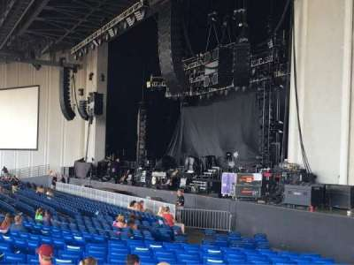 PNC Music Pavilion, section: 1, row: W, seat: 7