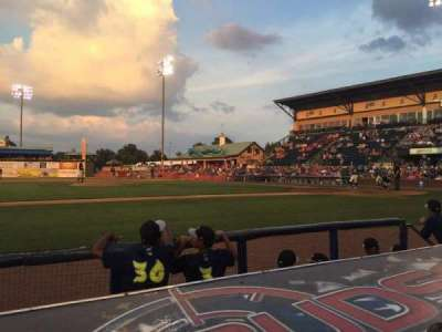 Whitaker Bank Ballpark, section: 111, row: B, seat: 6