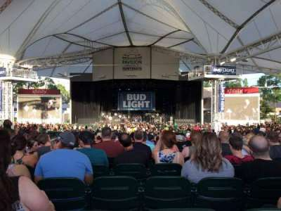 Cynthia Woods Mitchell Pavilion, section: 108, row: R, seat: 12
