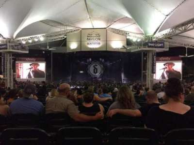 Cynthia Woods Mitchell Pavilion, section: 108, row: R, seat: 13