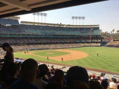 Dodger Stadium section 152LG