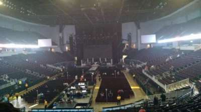 CenturyLink Center (Louisiana), section: 102, row: Y