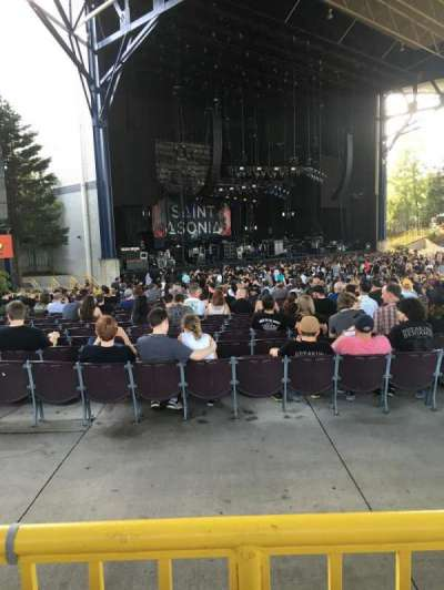 Jiffy Lube Live, section: 205, row: 1, seat: 15