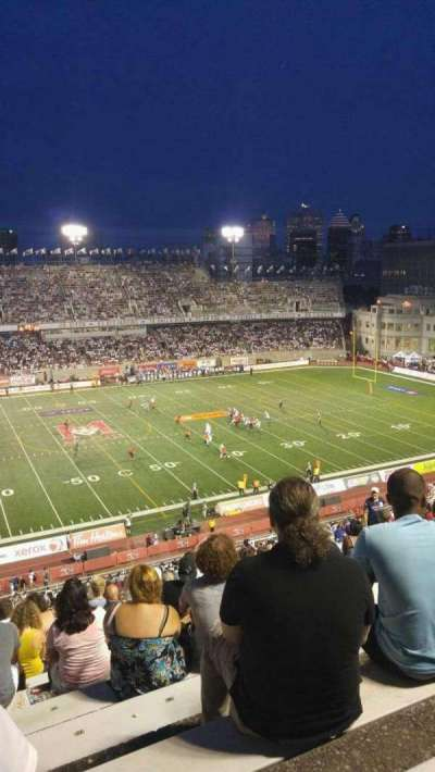 Percival Molson Memorial Stadium section H2