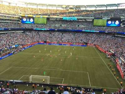MetLife Stadium  section 249A