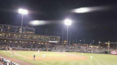 BB&T Ballpark (Charlotte), section: 102, row: V, seat: 22