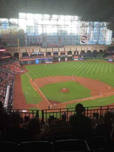 Minute Maid Park, section: 421, row: 4, seat: 11