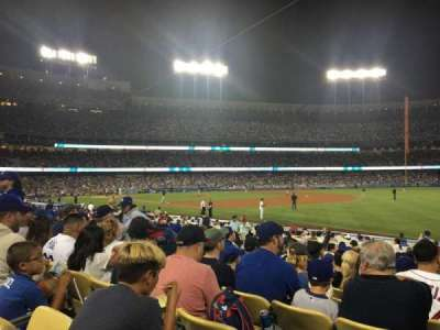 Dodger Stadium, section: 42FD, row: M, seat: 1
