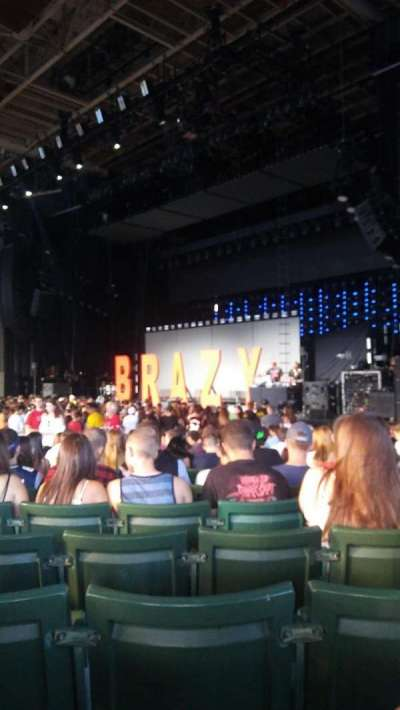 Xfinity Center, section: 1, row: AA, seat: 21