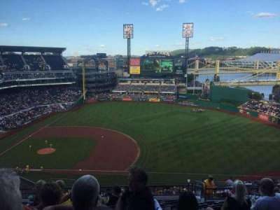PNC Park, section: 308, row: R, seat: 16