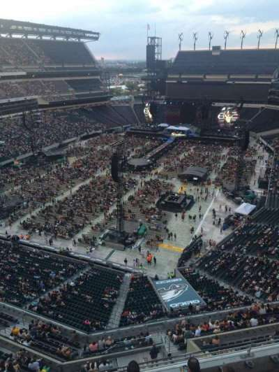 Lincoln Financial Field, section: 216, row: 5, seat: 1