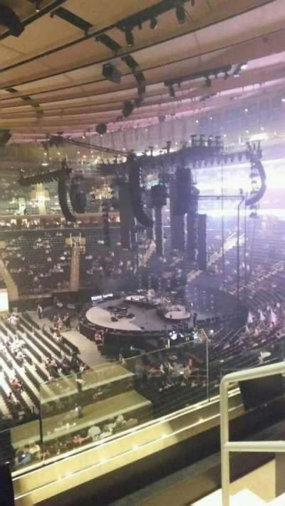 Madison Square Garden, section: 211, row: 3, seat: 21