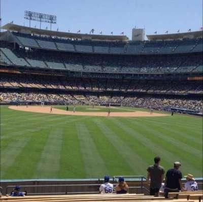 Dodger Stadium, section: 313PL, row: N, seat: 8