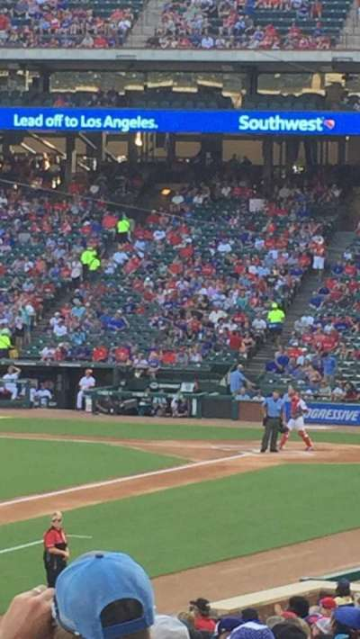 Globe Life Park in Arlington, section: 20, row: 14, seat: 11