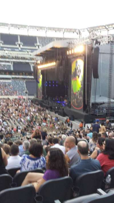 MetLife Stadium, section: 112, row: 25, seat: 6