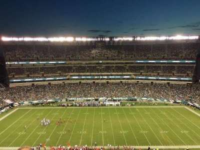Lincoln Financial Field, section: 224, row: 8, seat: 14