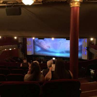 PrivateBank Theatre, section: Dress Circle RIght, row: G, seat: 240