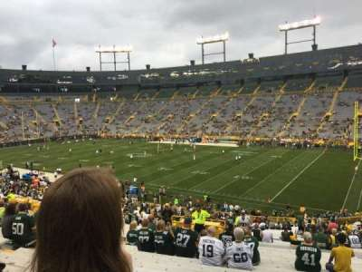 Lambeau Field section 130