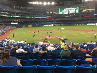 Rogers Centre, section: 120l, row: 25, seat: 110