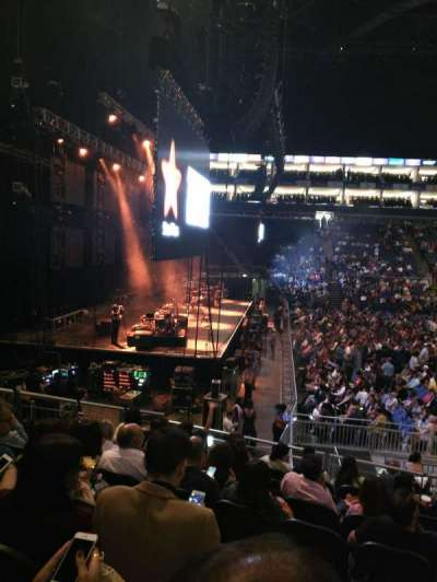 The O2 Arena, section: 101, row: Q, seat: 19