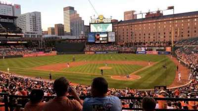 Oriole Park at Camden Yards section 39