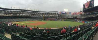 Globe Life Park in Arlington, section: 36, row: 20, seat: 5