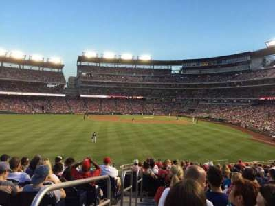 Nationals Park, section: 103, row: V, seat: 1