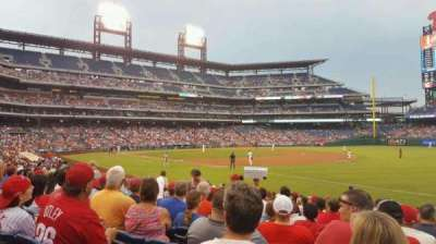 Citizens Bank Park, section: 111, row: 19, seat: 8